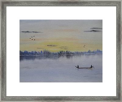 Serenity Framed Print by Sayali Mahajan