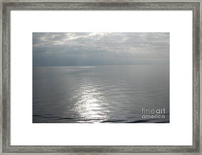 Serenity Sea Framed Print