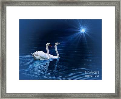 Serenity Framed Print by Shirley Mangini