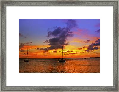 Serenity Framed Print by Stephen Anderson