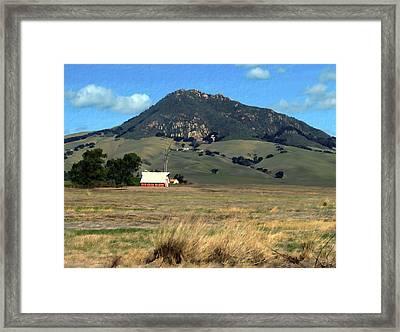 Serenity Under Bishops Peak Framed Print