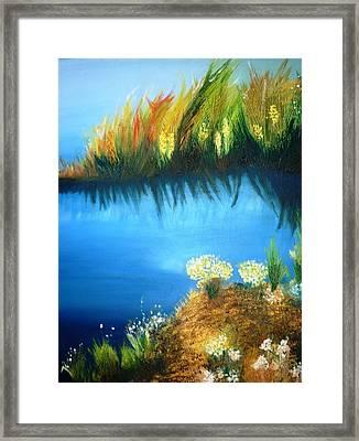 Serenity Framed Print by Veronica Chauvet