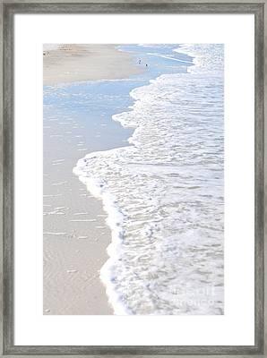 Serenity's Shore Framed Print