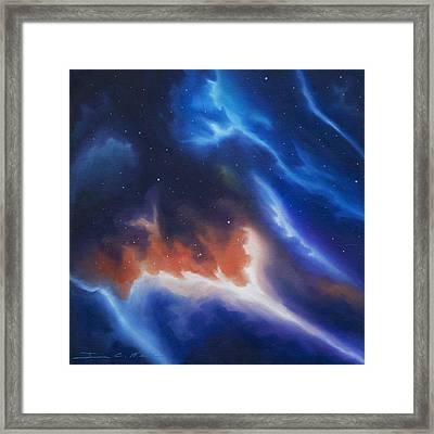 Seria Nebula Framed Print by James Christopher Hill
