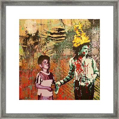 Serial Thriller Framed Print by Bobby Zeik