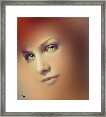 Serie Rostros 3 Framed Print