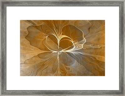 Series Patina Style 3 Framed Print