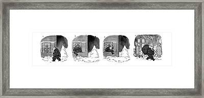 Series Framed Print