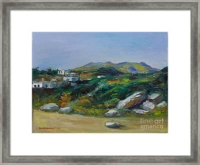 Serifos Island Framed Print