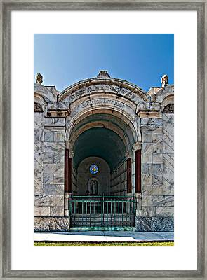 Serious Business Framed Print