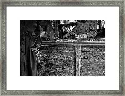 Serious Intent Framed Print by Mary Lee Dereske