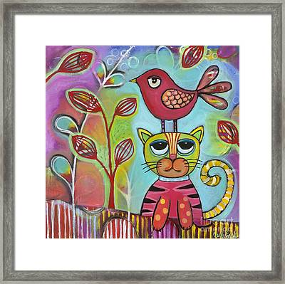 Seriously? Framed Print by Carla Bank