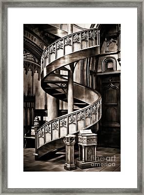 Serpentine Framed Print by Venetta Archer