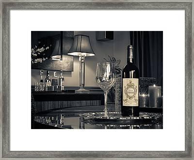 Service For One Framed Print by Dennis James