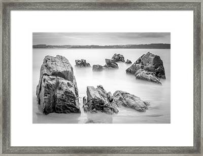 Framed Print featuring the photograph Seselle Beach Galicia Spain by Pablo Avanzini