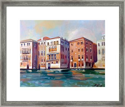 Sestiere San Marco Framed Print