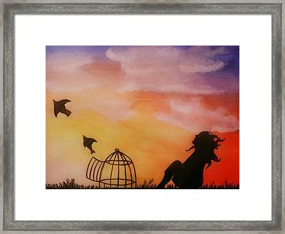 Set Free Framed Print by Kiara Reynolds