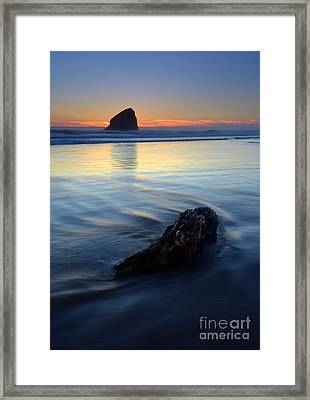 Set In Sand Framed Print