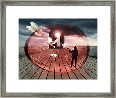 Set Me Free Framed Print by Mark Ashkenazi