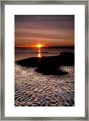 Seton Sunrise Framed Print