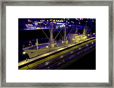 Setting Sail Framed Print