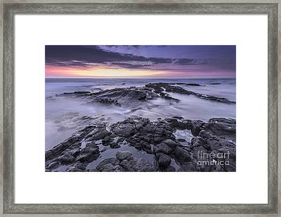 Setting Sun Framed Print by Marco Crupi