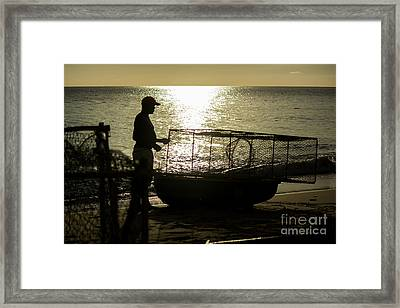 Setting Traps Framed Print by Rene Triay Photography