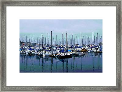 Settled Inn Framed Print