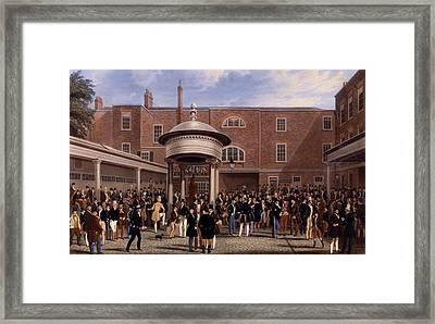 Settling Day At Tattersalls, Print Made Framed Print by James Pollard