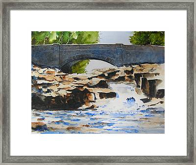 Seven Bridges Road Framed Print by William Beaupre