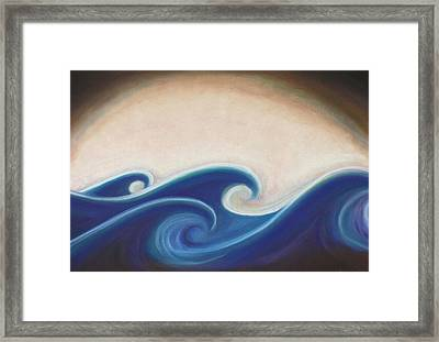 Seven Days Of Creation - The First Day Framed Print