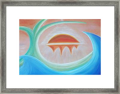 Seven Days Of Creation - The Seventh Day Framed Print