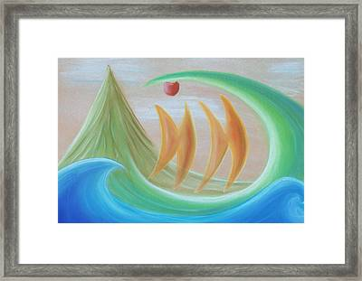 Seven Days Of Creation - The Sixth Day Framed Print