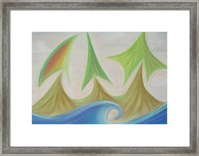 Seven Days Of Creation  - The Third Day Framed Print