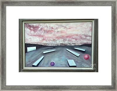 Framed Print featuring the painting Seven Levels Of Consciousness by Stuart Engel