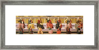 Seven Liberal Arts Framed Print