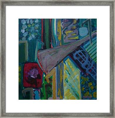 Seven Framed Print by Olivia  M Dickerson