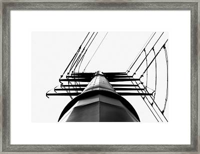 Seven Percent Margin Framed Print