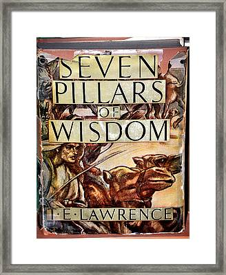 Seven Pillars Of Wisdom Lawrence Framed Print