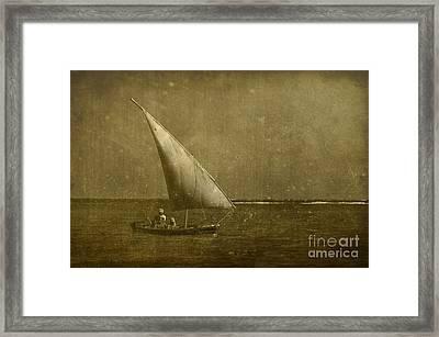 Seven Seas... Framed Print by Nina Stavlund