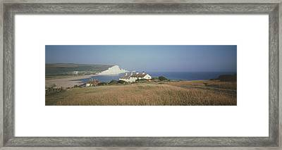 Seven Sisters Dover England Framed Print by Panoramic Images