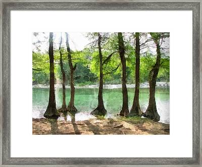 Seven Sisters Framed Print by Wendy J St Christopher