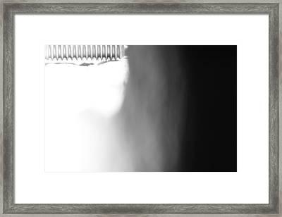 Framed Print featuring the photograph Seven Sixteenth Of An Inch by Steven Macanka