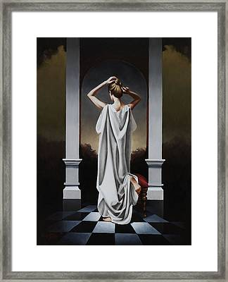 Seven Thirty A.m. Framed Print by Carlos Reales