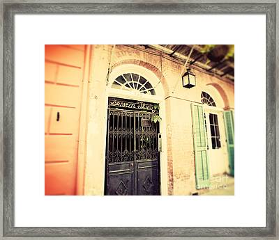 Seven Thirty Framed Print by Erin Johnson