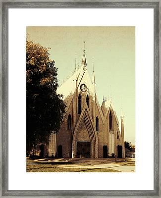 Seventh Day Church Framed Print by Glenn McCarthy Art and Photography