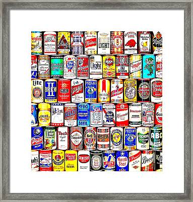 Seventies Suds Framed Print