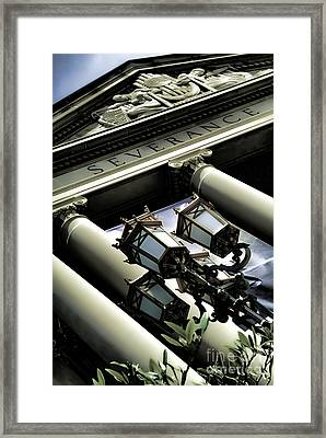Severance Hall - Home Of The Cleveland Orchestra Framed Print