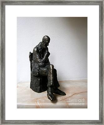 Severe Problem Framed Print by Nikola Litchkov