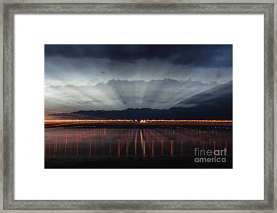 Severn Bridge Framed Print